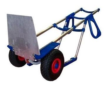 Тележка двухколесная алюминиевая на пневмоколесах ТГ-150