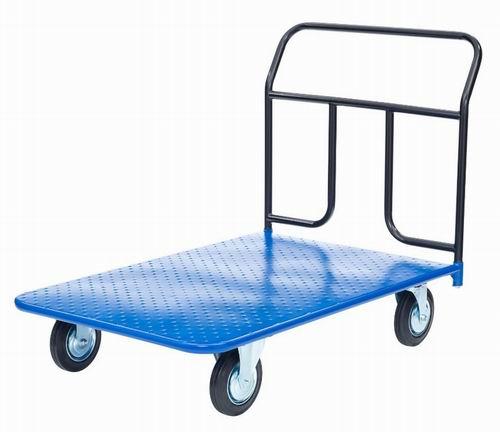 Платформенная тележка КП-350 колеса 125 мм Tellure Rota