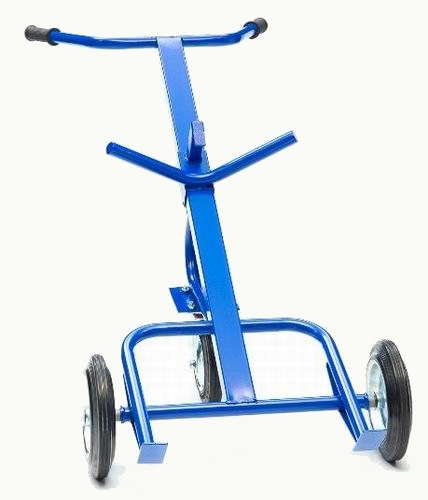 Тележка для бочек КБ-350 колеса Tellure Rota