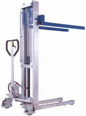 Штабелер гидравлический ручной Pfaff Silberblau HV 1016