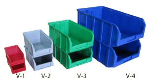 Ящик пластиковый, контейнер V-1