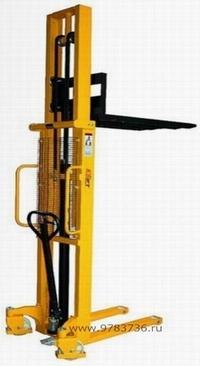 Штабелер гидравлический ручной с раздвижными вилами Noblift EFS 1016 Mob