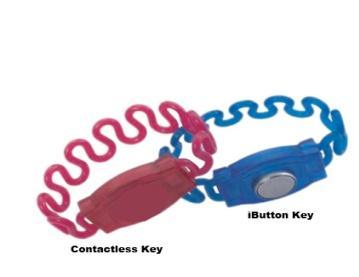 Ключ с браслетом к шкафам серии LE-EL с электронным замком