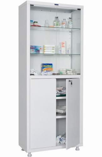 Медицинский шкаф HILFE МД 2 1670/SG