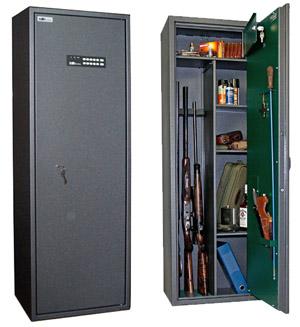 Сейф оружейный SAFETRONICS MAXI 5 PME/K3