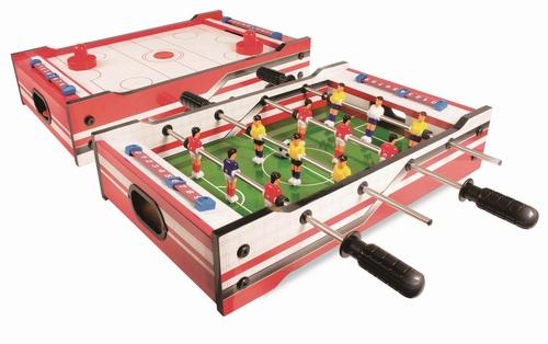 Набор игр Футбол/Аэрохоккей Детский 52 см