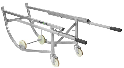 Тележка для стальных бочек 210л Euro-Lift DF10