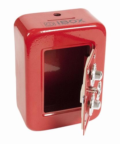 Сейф-копилка IBOX IB-1-CL Red