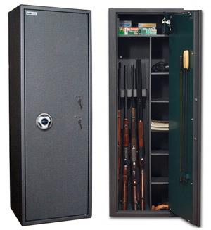 Сейф оружейный SAFETRONICS MAXI 5 PMM/K5