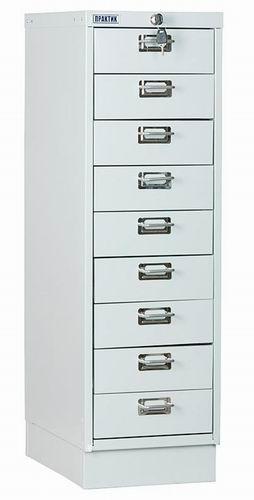 Многоящичный шкаф ПРАКТИК MDC-A3/910/9