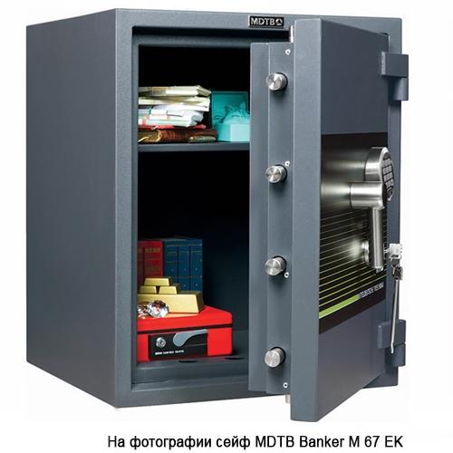 Сейф взломостойкий MDTB Banker M 1368 EK