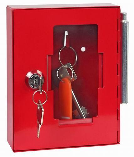 Ключница для аварийного ключа с молоточком