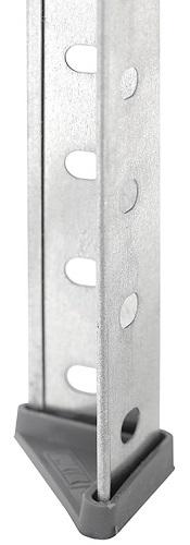 Стеллаж из оцинкованной стали ES 150KD-75Х30-4
