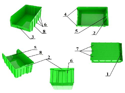 Пластиковые контейнеры серии V